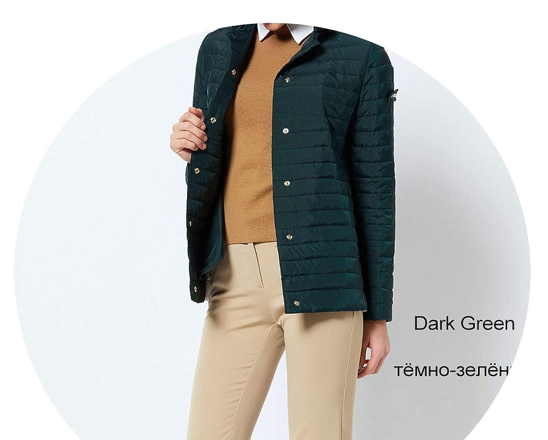 704 Dark Green Windproof Women's Parka Coat Jacket Coat Womens Quilted Coat
