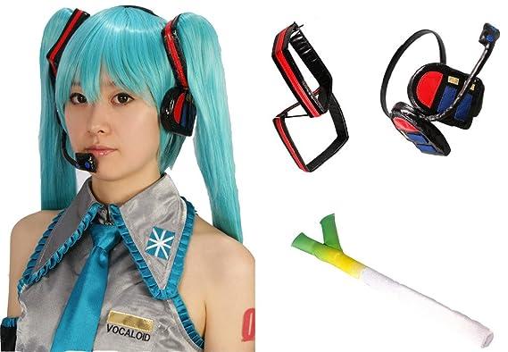 Amazon.com: MILICA BOOKS Vocaloid Hatsune Miku Cosplay ...