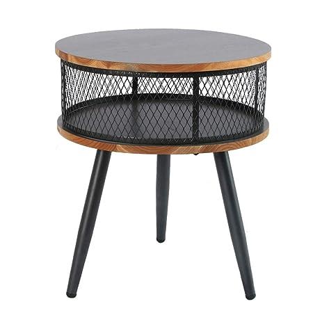 Mesa de Centro y Café de Estilo Nórdico Diseño Industrial Ronda ...