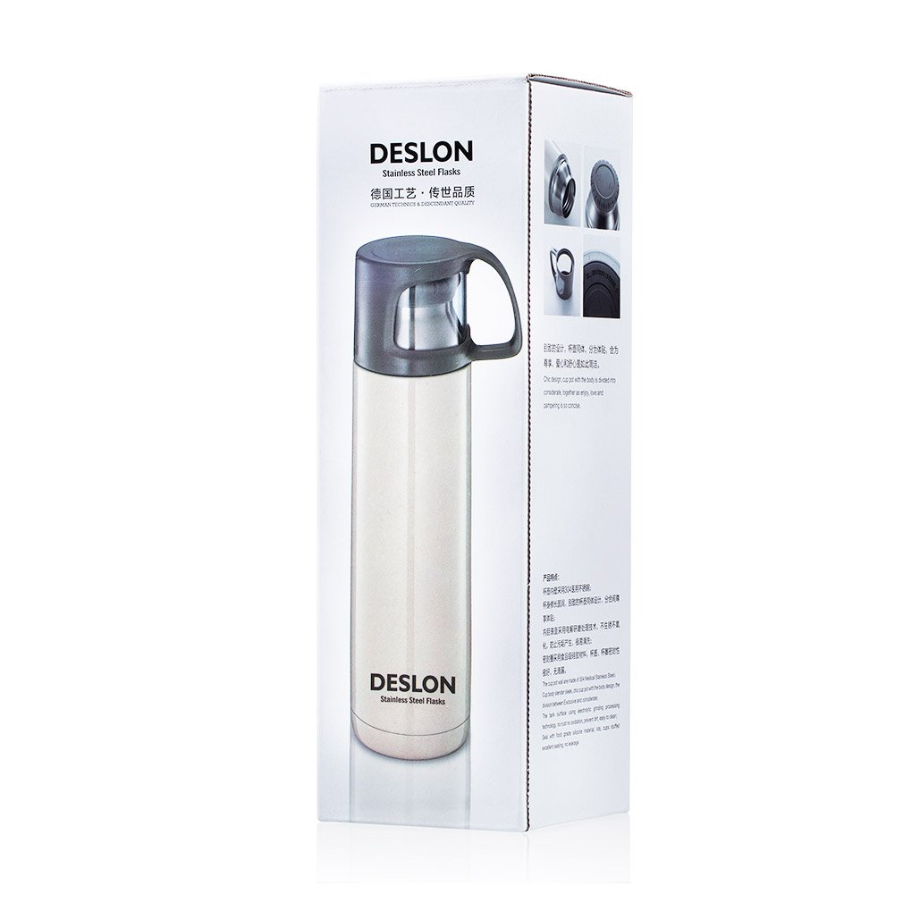 DESLON Insulated Sports Water Bottle for Kids 17 oz Water Bottle for Girls