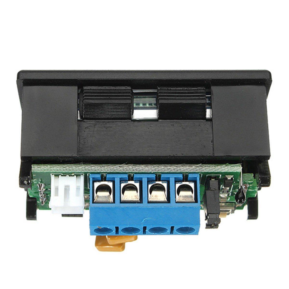 DC Meter LCD Digital Dual Display Voltage Current RS485 Voltmeter