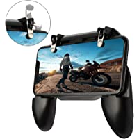 picK-me Mobile Game Controller, Gaming Trigger Smartphone Shooter Sensitive Controller Joysticks PUBG Mobile, for 4.7-6…