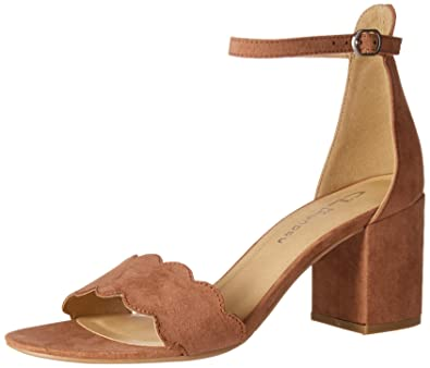 1cde82d81 CL by Chinese Laundry Women s Jayne Heeled Sandal DEEP Rose Suede 6 ...