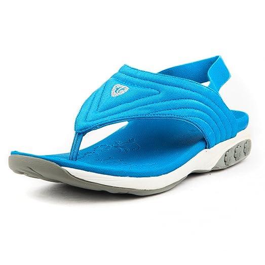 Therafit Summer Women's Fabric Slingback Sport Sandal - for Plantar Fasciitis/Foot Pain