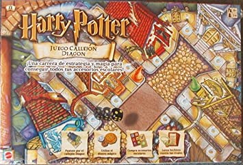 Harry Potter Juego Callejon Diagon by Mattel: Amazon.es: Juguetes ...