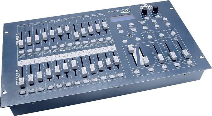 Stage Designer 50 Mesa de mezcla Dimmer de 24 canales: Amazon.es ...