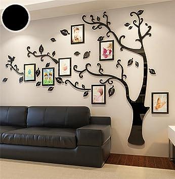 Wmshpeds Foto Baum creative 3D Acryl wand Aufkleber Wohnzimmer ...