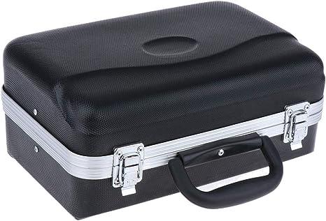 Bolso Cuadrado Trompeta Estuche Rígido Bolsa De Viaje Profesional Piezas Negras: Amazon.es: Instrumentos musicales