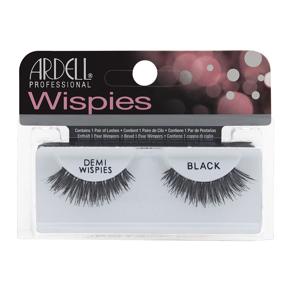 1a186ce59c6 Amazon.com : Ardell InvisiBands Lashes Glamour - Demi Wispies Black 240437  : Beauty