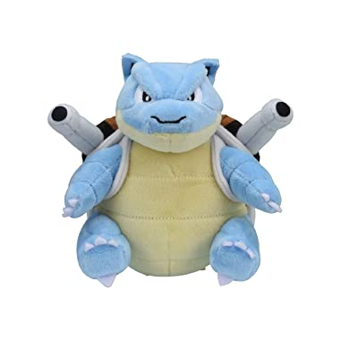 Pokemon Center Original Fit Blastoise Tortank Turtok Plush Peluche: Toys & Games