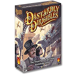 Fireside Games Dastardly Dirigibles Board Game – Board Games for Families – Board Games for Adults