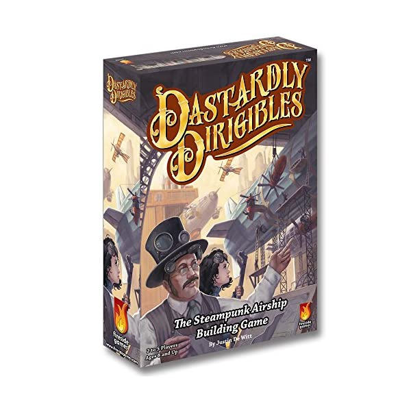 Fireside Games Dastardly Dirigibles Board Game - Board Games for Families - Board Games for Adults 3
