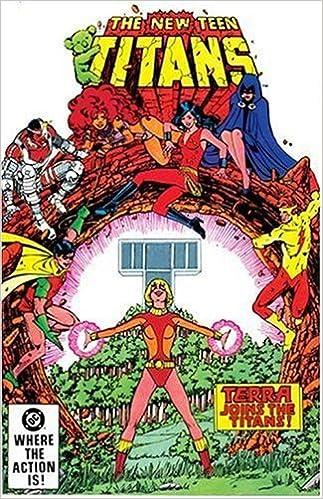 titans comics Teen terra