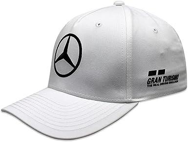 Mercedes AMG F1 Team Driver Puma Hamilton Baseball Gorra Blanco ...
