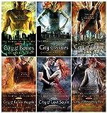 download ebook the mortal instruments hardcover 6 book set: city of bones, ashes, glass, fallen angels, lost souls, heavenly fire pdf epub