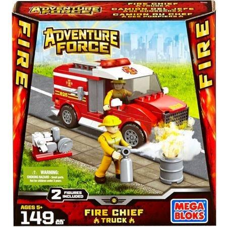 UPC 065541944053, Mega Bloks Adventure Force Fire Truck Set #94405