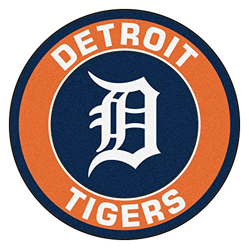 FANMATS 18135 MLB Detroit Tigers Roundel Mat