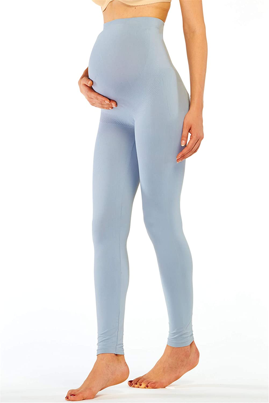 Franato Femme Taille Haute Stretch Maternit/é Leggings de Grossesse