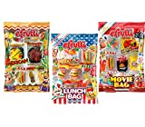 gummy hot dogs - eFrutti Original Mini Gummi Lunch Bag, Movie Bag & Mexican Dinner Bag Bundle - 2.7oz Each (3 Pack, 1 of Each)