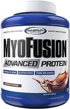 MyoFusion Advanced Protein 4 lb (1800g) EU Mantequilla de cacahuete