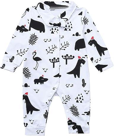 cinnamou Pijamas De Navidad Familia Conjunto Monos Estampado ...