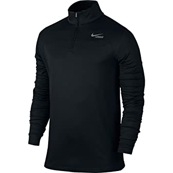Nike Lightweight Dri-FIT Quarter-Zip (BLACK///COOL GREY,