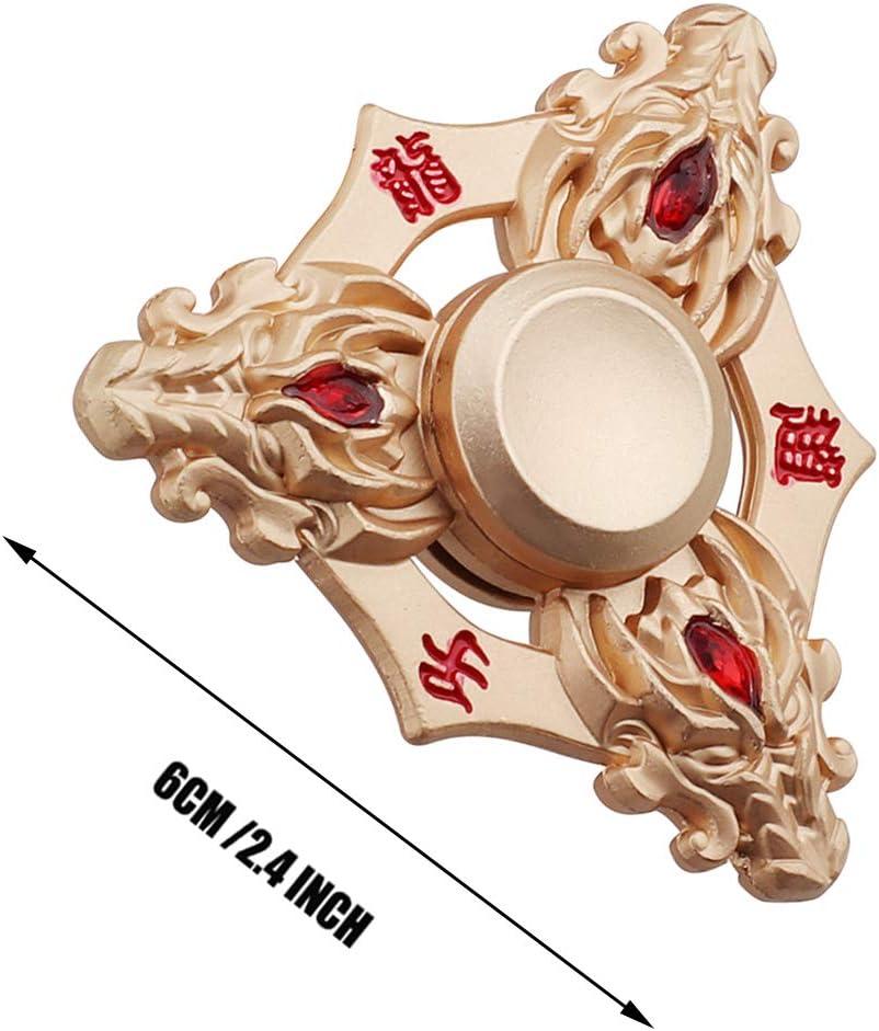 Fidget Spinner LED in metallo colorato a mano Spinner EDC fingertip Gyro stress Toys