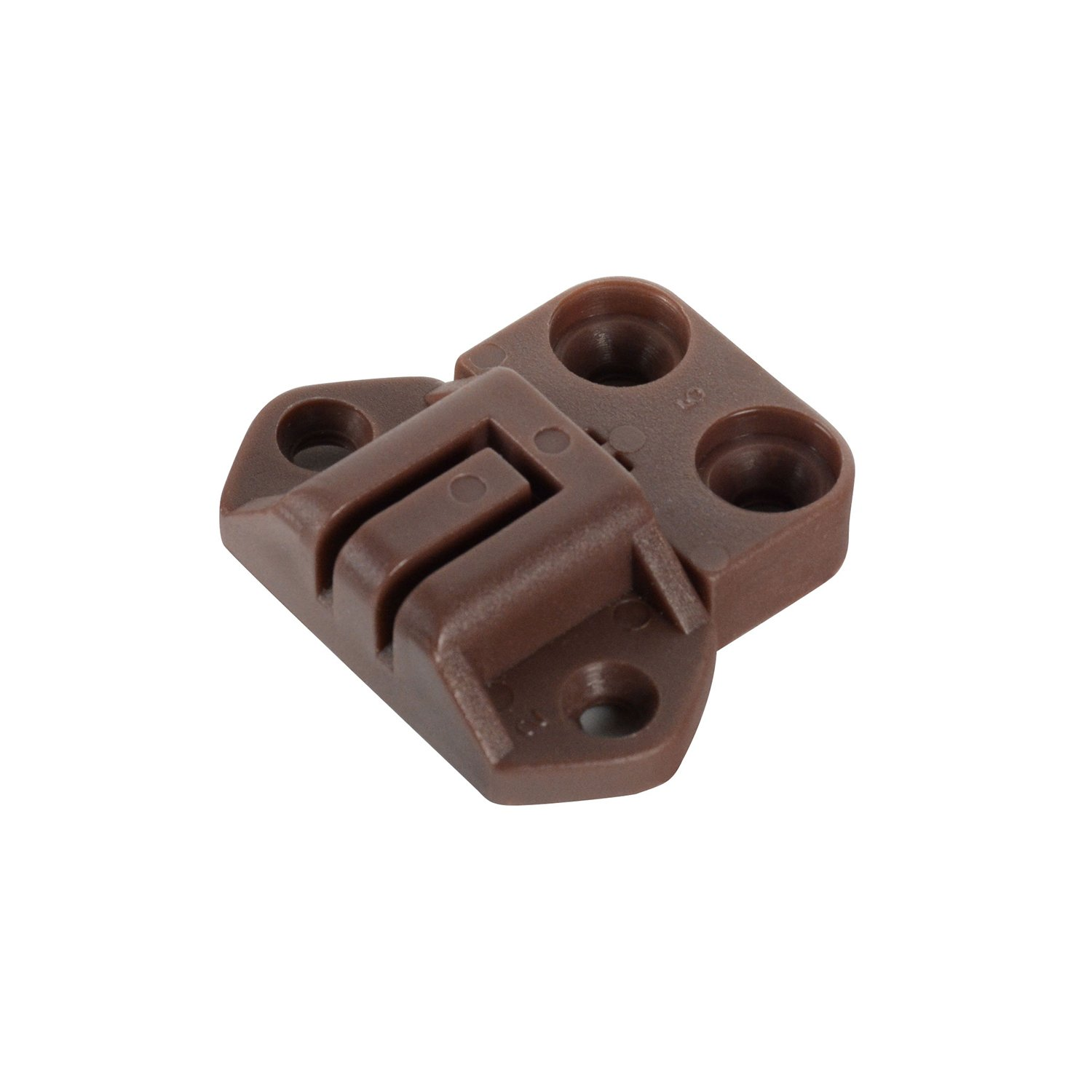 CKP Brand Table Alignment Lock and Strike, Brown - 4 Pack