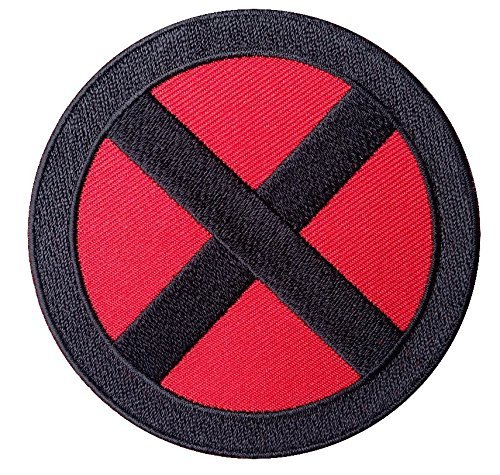 [X-men Storm Red Black Costume Cosplay Patch] (Storm Costume Cosplay)