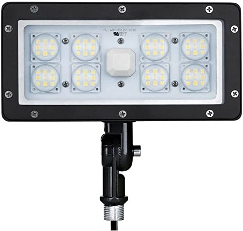 1000LED 70W LED Flood Light 6,800Lm Outdoor Spot Light 5000K AC110-277V Waterproof IP65 UL DLC Certificate for Commercial and Residential Area