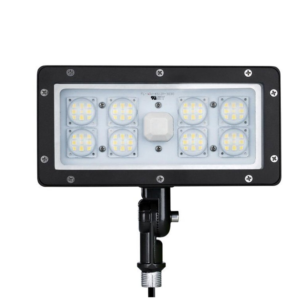 1000LED 70W LED Flood Light 8,050Lm Outdoor Spot Light 5000K AC110-277V Waterproof IP65 Wall Light UL DLC Certificate for Commercial And Resident Light by 1000LED