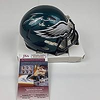 $84 » Autographed/Signed Lane Johnson Philadelphia Eagles Mini Football Helmet JSA COA