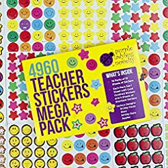 Teacher Stickers for Kids Mega Pack by P...