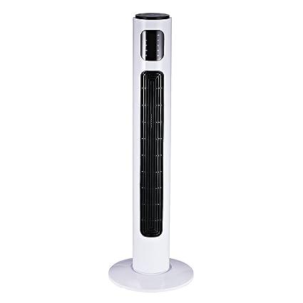 Homcom Ventilador De Torre Con Control Remoto Tower Fan Columna
