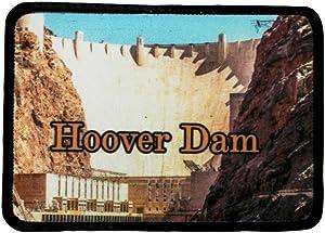 Hoover Dam Patch Landmark Nevada Arizona Travel Dye Sublimation Iron On Applique