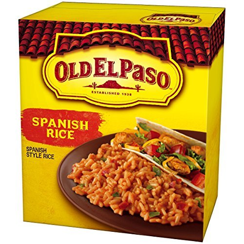 Old El Paso Sides, Spanish Rice, 7.6-Ounce Boxes (Pack of 12) by Old El Paso