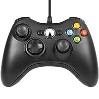 Controller da Gioco,Spalle pulsanti Design ergonomico migliorato USB Wired Joypad Gamepad Controller per Microsoft per Xbox 360 PC per Windows 7