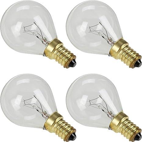 4 bombillas para horno de cocina Bosch Neff Siemens Hotpoint AEG ...