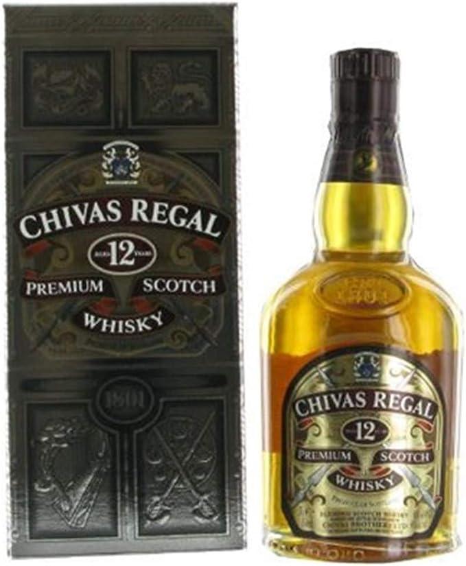 Chivas Regal 12 años whisky escocés de mezcla de 70 cl (Pack de 70 ...