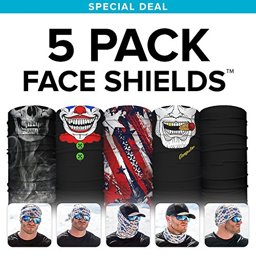 S a sa co official best sellers 5 pack face shields for Sa fishing face shield review