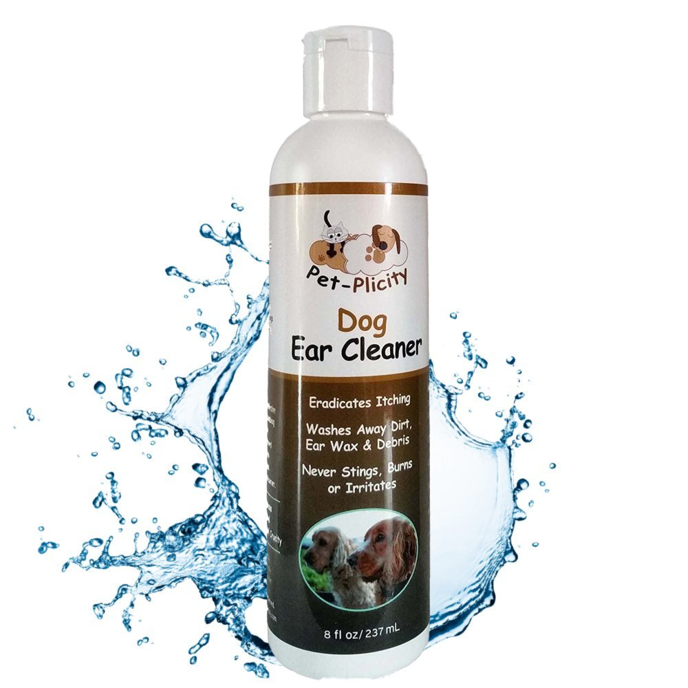 Ear Cleaner For Dogs - Compliments The Treatment of Infections Caused By Ear