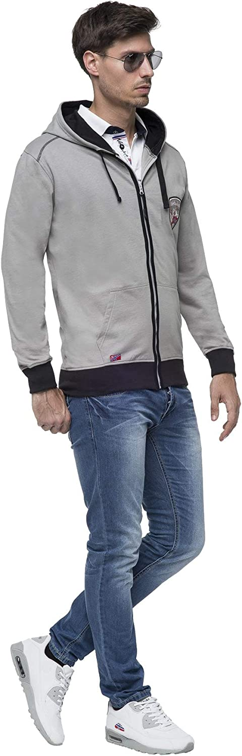 Nebulus Sweatjacke Throys Weiß