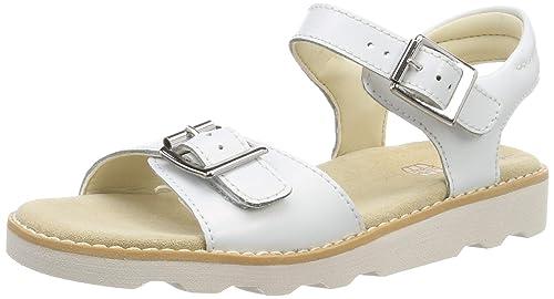 cf0edbcf85405 Clarks Girls' Crown Bloom K Sling Back Sandals: Amazon.co.uk: Shoes ...