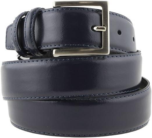 Cintura in pelle di vitello Altezze 3,5 CM e 4 CM