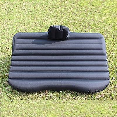 ASL Voiture gonflable Bed Seat Car matelas Suv voiture arrière de voiture Voiture Voyage Voyage camping en plein air Bed coussin d'air Chambres qualité ( Couleur : Noir )