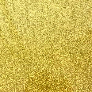 Flex Camiseta de textil pantalla para plotter 5unidades DIN A4–Glitter Oro–siser g0020