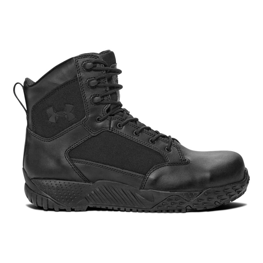 Under Armour Men's Stellar Protect Military and Tactical Boot, 001/Black, 11 by Under Armour