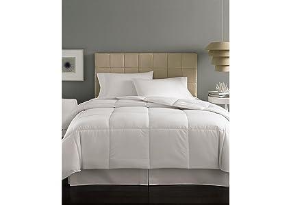 Amazon.com: Home Design Mini Stripe Down Alternative Comforter King ...