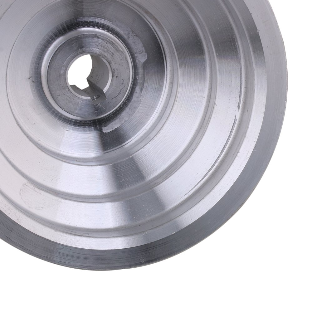 54mm-150mm Outter Dia 14mm Bohrungsbreite 12.7mm Aluminium 5-Stufen-Pagodenriemenriemen f/ür A-Typ-Keilriemen