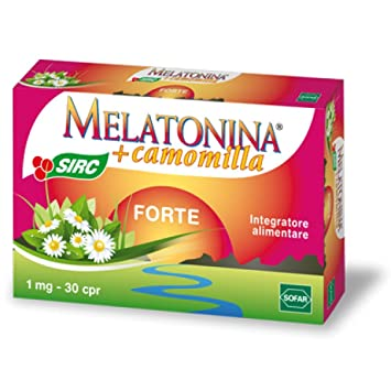 Amazon.com: Sofar Melatonin + Chamomile Forte Food Supplement 30 ...